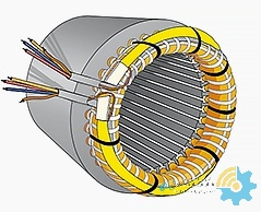Stator structure