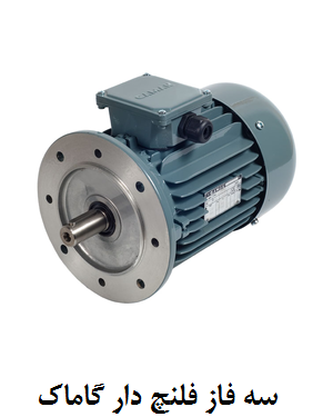 Gamak three-phase flanged electromotor