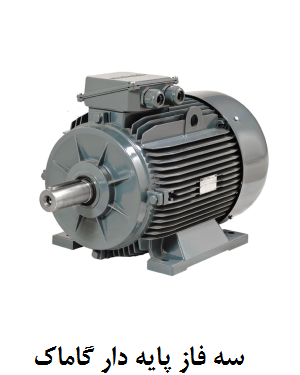 Gamak three phase electric motor