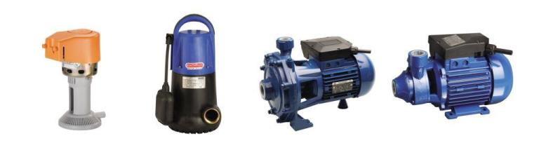 Types of Electric Pumps