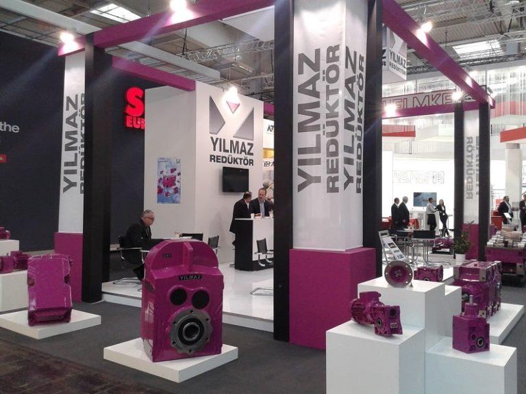 Ilmaz gearbox exhibition
