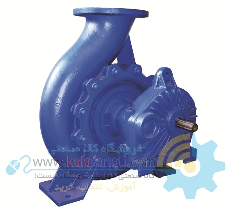 Pump behind Sahand tractor of Tabriz pump